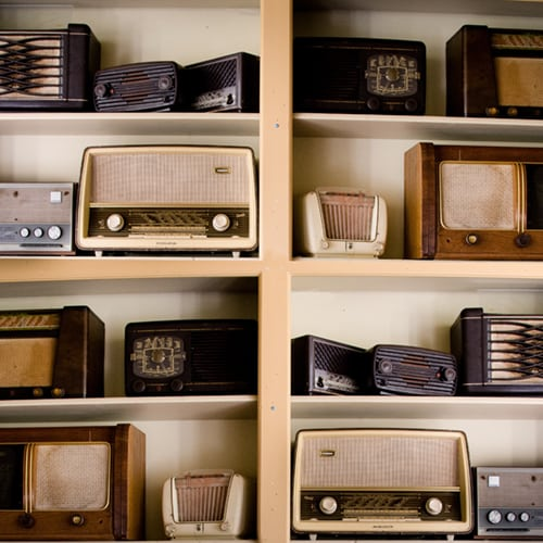 Old Antique Radios